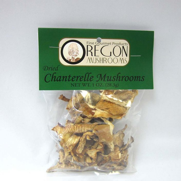 Oregon Mushrooms Dried Chanterelle Mushrooms 1oz
