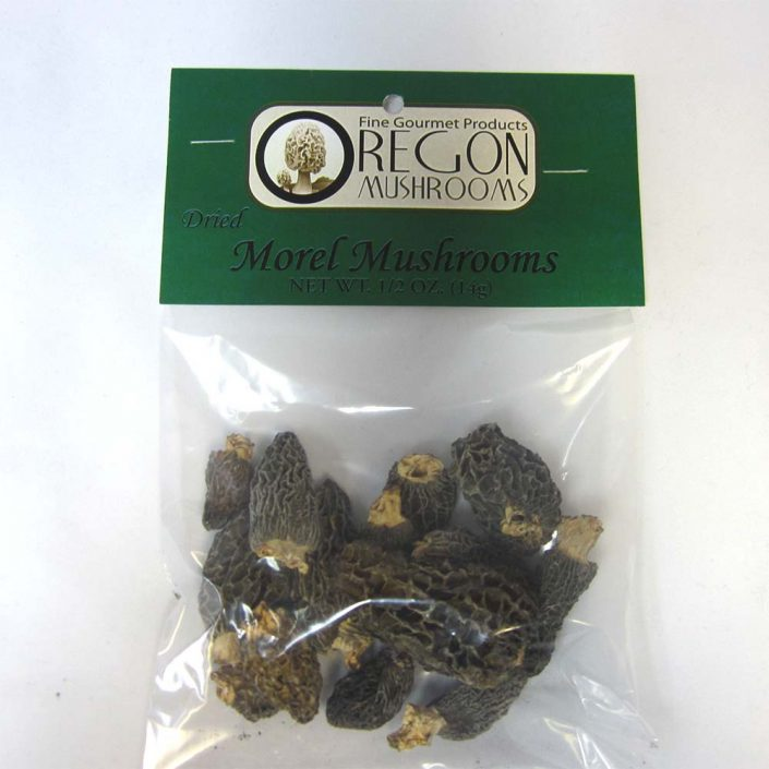 Oregon Mushrooms Dried Morel Mushrooms 1oz